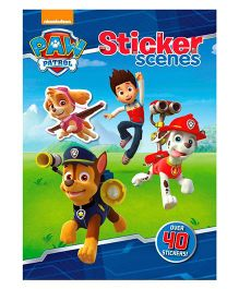 Paw Patrol Sticker Scenes 40 Stickers - English