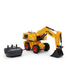Playmate Remote Controlled Construction Truck - Yellow