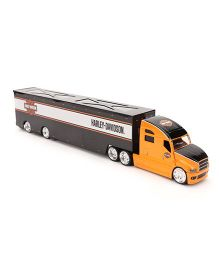 Maisto Harley Davidson Hauler - Orange Black