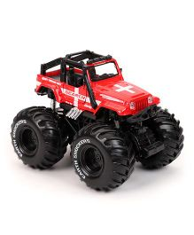 Maisto Earth Shockers Die cast Model - Red