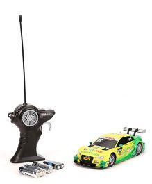Maisto Remote Control Audi A 5 DTM Racing Car - Yellow And Green