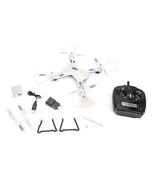 Modelart Remote Control 4 Channel Q.Copter Sky Roptor - White