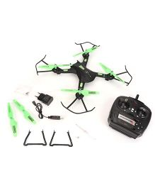 Modelart Remote Control 4 Channel Quad Copter Sky Roptor - Black And Green