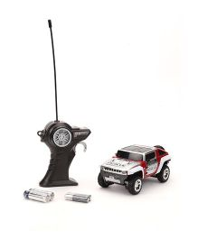 Maisto Remote Control Hummer X 6 Concept - Red And Silver