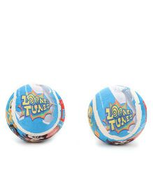 Looney Tunes Tennis Ball Pack Of 2 - Blue