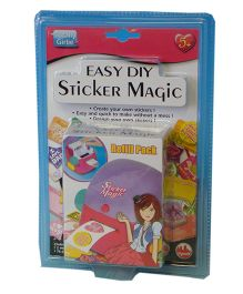 Totally Girlie Sticker Magic Refills - Multi Color