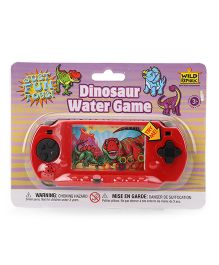 Wild Republic Hand Held Dinosaur Water Game - Red