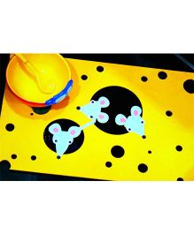 Kaasht Studio Table Mat - Yellow