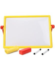 Zephyr Scribblez Two In One Writing Board - Yellow