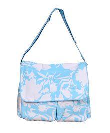 Prettykrafts Multipurpose Shoulder Bag - Blue White