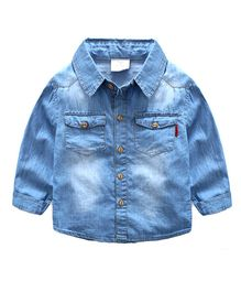 Mauve Collection All Season Denim Shirt - Blue