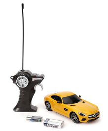 Maisto Remote Control Mercedes Benz AMG GT Redio Conrtol Car - Yellow