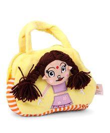 Dimpy Stuff Chutki Picnic Hand Bag - Yellow Purple