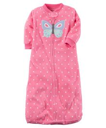 Carter's Micro-fleece Sleep Bag - Pink