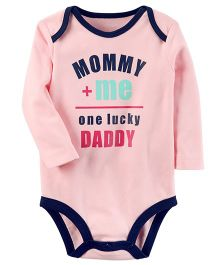 Carter's One Lucky Daddy Collectible Bodysuit - Pink