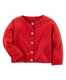 Carter's Holiday Cardigan - Red
