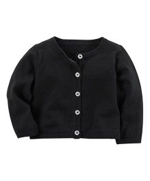 Carter's Holiday Cardigan - Black