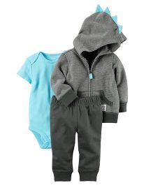 Carter's 3 Piece Coordinate Set - Blue Grey