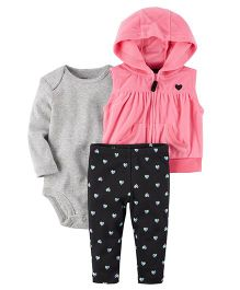 Carter's 3-Piece Little Jacket Set - Pink