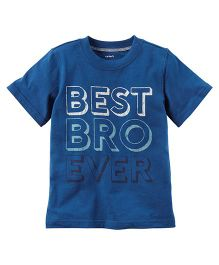 Carter's Best Bro Ever Graphic Tee - Blue