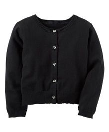 Carter's Knit Cardigan - Black