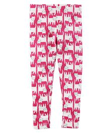 Carter's Cat Print Leggings - Pink