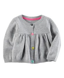 Carter's Babydoll Cardigan - Grey