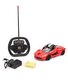Classic Remote Controlled Car - Red And Black