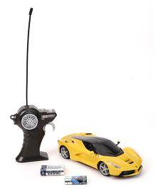 Maisto La-Ferrari Remote Control Car - Yellow