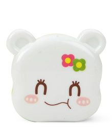 Kitty Face Pencil Sharpener - (Colours may Vary)