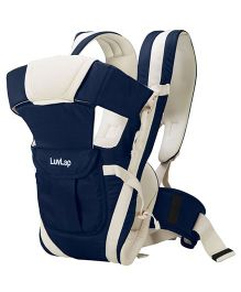 LuvLap Elegant 4 Way Baby Carrier - Dark Blue