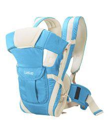 LuvLap Elegant 4 Way Baby Carrier - Light Blue