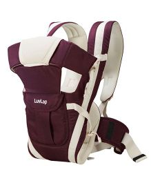 LuvLap Elegant 4 Way Baby Carrier - Purple