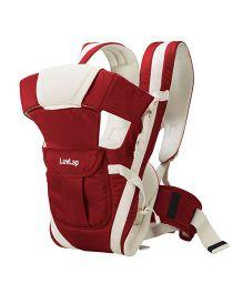 LuvLap Elegant 4 Way Baby Carrier - Red