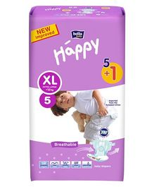 Bella Baby Happy Diapers Extra Large - 6 Pieces