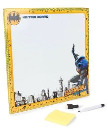 DC Comics Batman 2 in 1 Writing And Game Board - Gold White