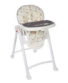 Graco Ted & Coco High Chair - Grey White