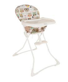 Graco Tea Time Bear Trail High Chair White - 3T94BTAE