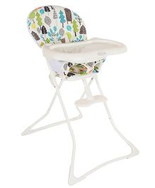 Graco Tea Time Bear Trail High Chair - White