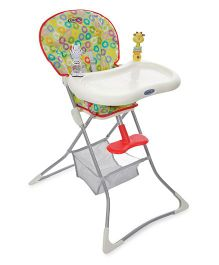 Graco Tea Time High Chair Grazia - Multi Color