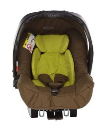 Graco Junior Baby Rear Facing Car Seat Zigzag - Olive Lime
