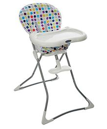 Graco Tea Time Pop Art High Chair 1783163 - White