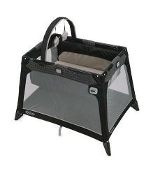 Graco Pack N Play Playard Nimble Nook Pierce - Black & Grey