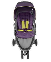 Graco Evo Mini Jogging Stroller Night Shade - Purple & Black