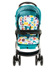 Graco Lightweight Stroller STR Mirage Par Into The Woods 6M189SIWE - Sea Green
