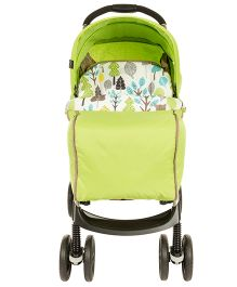 Graco Lightweight Stroller STR Mirage Parent Bear TRail 6M189BTAE - Green