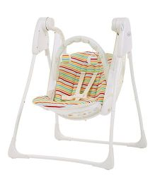 Graco Swing Baby Delight Candy Trail 1H95CTAU - White And Multi Color