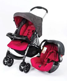 Graco Candy Rock Travel System - Pink