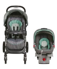 Graco Winslet Travel System - Grey Green