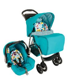 Graco Travel System Mirage Plus Into The Woods - Sea Green